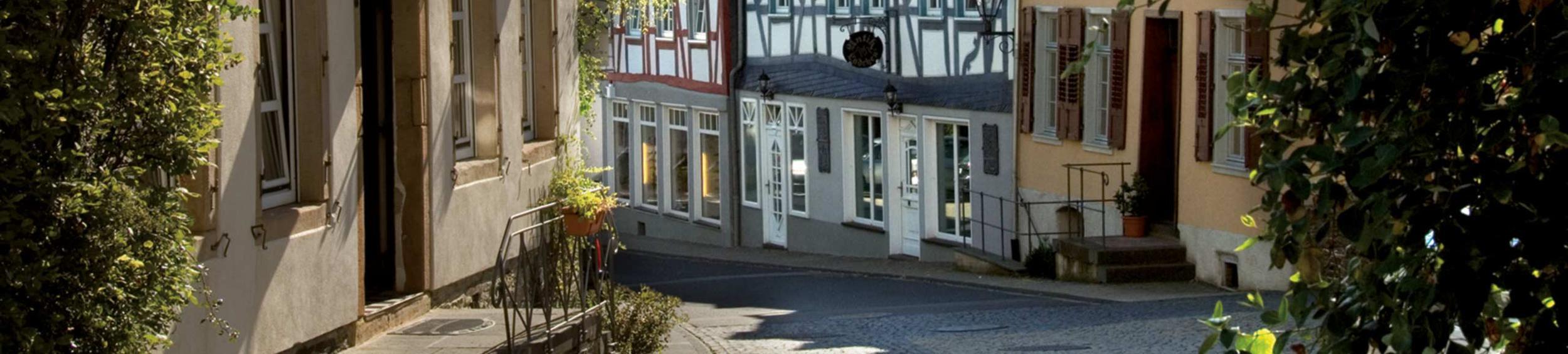 BurgStadt-Hotel reception - Foto: Jürgen Fey